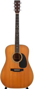 Musical Instruments:Acoustic Guitars, 1977 Martin D-35 Natural Acoustic Guitar, #391920....