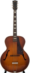 Musical Instruments:Acoustic Guitars, 1950 Gibson L-50 Sunburst Archtop Acoustic Guitar, #N/A....