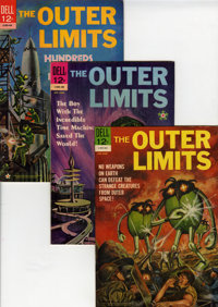 Outer Limits File Copy Group (Dell, 1964-69) Condition: Average VF/NM.... (Total: 14 Comic Books)