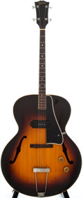 Musical Instruments:Electric Guitars, 1956 Gibson ETG-150 Sunburst Tenor Archtop Electric Guitar,#V5688....