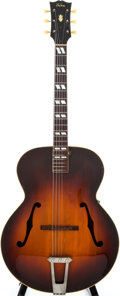 Musical Instruments:Acoustic Guitars, 1952 Gibson L-7 Sunburst Archtop Acoustic Guitar, #99111....