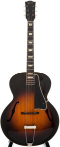 Musical Instruments:Acoustic Guitars, 1948 Gibson L-50 Sunburst Archtop Acoustic Guitar, #3201....