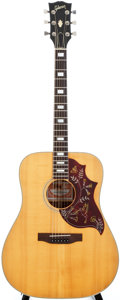 Musical Instruments:Acoustic Guitars, 1979 Gibson Hummingbird Natural Acoustic Guitar, #70439090....