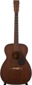 Musical Instruments:Acoustic Guitars, 1955 Martin 00-17 Natural Acoustic Guitar, #142513....