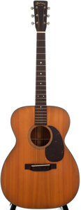 Musical Instruments:Acoustic Guitars, 1955 Martin 000-18 Natural Acoustic Guitar, #142290....