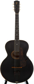 Musical Instruments:Acoustic Guitars, 1915 Gibson L-4 Black Acoustic Guitar, #22239....