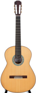 Musical Instruments:Acoustic Guitars, 2002 Pimentel Grand Concert Classical Natural Acoustic Guitar, #INDRW8NSP....