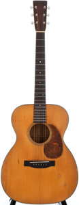 Musical Instruments:Acoustic Guitars, 1936 Martin 000-18 Natural Acoustic Guitar, #63885....