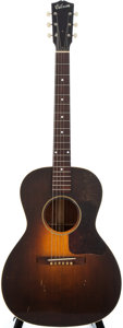 Musical Instruments:Acoustic Guitars, 1931 Gibson L-1 Sunburst Acoustic Guitar, #323....