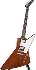 Musical Instruments:Electric Guitars, 1976 Gibson Explorer Natural Solid Body Electric Guitar,#00210817....