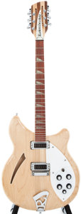 Musical Instruments:Electric Guitars, 1997 Rickenbacker 360 Mapleglo 12-String Semi-Hollow Body ElectricGuitar, #P08272....