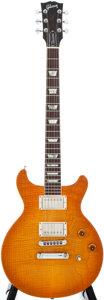 Musical Instruments:Electric Guitars, 1998 Gibson Les Paul DC Faded Sunburst Solid Body Electric Guitar,#92178503....