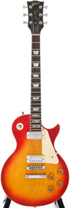Musical Instruments:Electric Guitars, 1979 Gibson Les Paul Cherry Sunburst Solid Body Electric Guitar,#70669512....