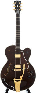 Musical Instruments:Electric Guitars, 1996 Gibson Chet Atkins Country Gentleman Brown Stain Semi-HollowBody Electric Guitar, #93486426....