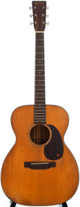 Musical Instruments:Acoustic Guitars, 1942 Martin 000-18 Natural Acoustic Guitar, #81326....