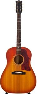 Musical Instruments:Acoustic Guitars, 1966 Gibson J-45 Sunburst Acoustic Guitar, #401332....