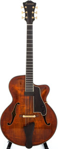 Musical Instruments:Electric Guitars, 2004 Eastman AR805CE Archtop Electric Guitar, #108....