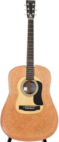 Musical Instruments:Acoustic Guitars, 2008 Martin D-28 Elvis Presley Natural Acoustic Guitar,#1270315....