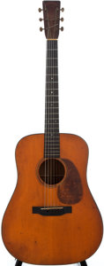 Musical Instruments:Acoustic Guitars, 1936 Martin D-18 Natural Acoustic Guitar, #63874....