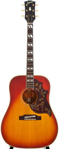Musical Instruments:Acoustic Guitars, 1965 Gibson Hummingbird Sunburst Acoustic Guitar, #361684....