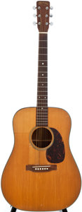Musical Instruments:Acoustic Guitars, 1962 Martin D-18 Natural Acoustic Guitar, #186362....