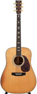 Musical Instruments:Acoustic Guitars, 2001 Martin D-41 Natural Acoustic Guitar, #797872....