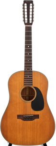 Musical Instruments:Acoustic Guitars, 1969 Martin D-12-20 Natural 12-String Acoustic Guitar, #249887....