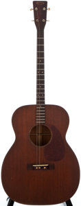 Musical Instruments:Acoustic Guitars, 1948 Martin 0-17T Natural Acoustic Tenor Guitar, #107225....