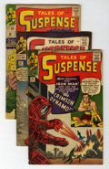 Golden Age (1938-1955):Science Fiction, Tales of Suspense #46-48 Group (Marvel, 1963) Condition: AverageVG-.... (Total: 3 Comic Books)