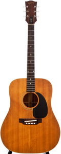 Musical Instruments:Acoustic Guitars, 1967 Gibson J-50 Natural Acoustic Guitar, #829148....