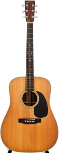 Musical Instruments:Acoustic Guitars, 1989 Martin D-28 Natural Acoustic Guitar, #489465....