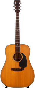 Musical Instruments:Acoustic Guitars, 1972 Martin D-18 Natural Acoustic Guitar, #309704....