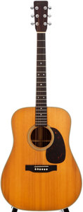 Musical Instruments:Acoustic Guitars, 1966 Martin D-28 Natural Acoustic Guitar, #212672....