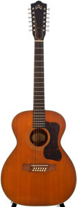 Musical Instruments:Acoustic Guitars, 1965 Guild F-312 Artist Natural 12-String Acoustic Guitar,#AS-142....