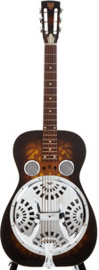 Musical Instruments:Resonator Guitars, 1970s Dobro Sunburst Resonator Guitar, #2150....