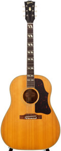 Musical Instruments:Acoustic Guitars, 1960 Gibson Country Western Natural Acoustic Guitar, #R6117....