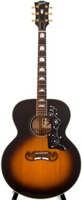Musical Instruments:Acoustic Guitars, 1994 Gibson J-200 Sunburst Acoustic Guitar, #91574016....