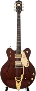 Musical Instruments:Electric Guitars, Late 1960s Gretsch Country Gentleman Burgundy Semi-Hollow Body Electric Guitar, #N/A....