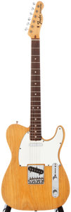 Musical Instruments:Electric Guitars, Circa 1970 Fender Telecaster Natural Solid Body Electric Guitar, #269732....