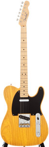 Musical Instruments:Electric Guitars, 2006 Fender Telecaster Butterscotch Solid Body Electric Guitar,#SE03454....