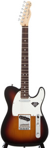 Musical Instruments:Electric Guitars, 2005 Fender Telecaster Sunburst Solid Body Electric Guitar, #Z5047578....