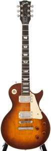 Musical Instruments:Electric Guitars, 1981 Gibson Les Paul Heritage 80 Elite Sunburst Solid Body ElectricGuitar, #815316220860....