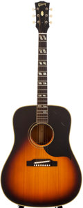 Musical Instruments:Acoustic Guitars, 1964 Gibson SJ Sunburst Acoustic Guitar, #27112....
