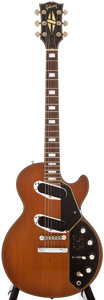 Musical Instruments:Electric Guitars, 1972 Gibson Les Paul Recording Walnut Solid Body Electric Guitar,#681323....