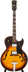 Musical Instruments:Electric Guitars, 1968 Gibson ES-175 D Sunburst Archtop Electric Guitar, #507132....