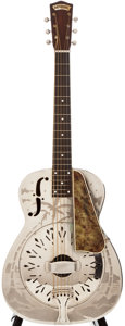 Musical Instruments:Acoustic Guitars, Mid-1930s National Style O Resonator Guitar, #6418....