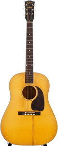 Musical Instruments:Acoustic Guitars, 1945 Gibson J-50 Blonde Acoustic Guitar, #77117....