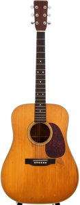 Musical Instruments:Acoustic Guitars, 1970 Martin D-28 Natural Acoustic Guitar, #270888....