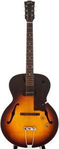 Musical Instruments:Electric Guitars, 1958 Gibson ES-125 Sunburst Archtop Electric Guitar, #T5515....