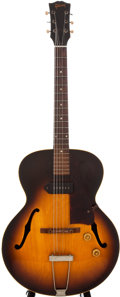 Musical Instruments:Electric Guitars, 1956 Gibson ES-125 Sunburst Archtop Electric Guitar, #V6327....